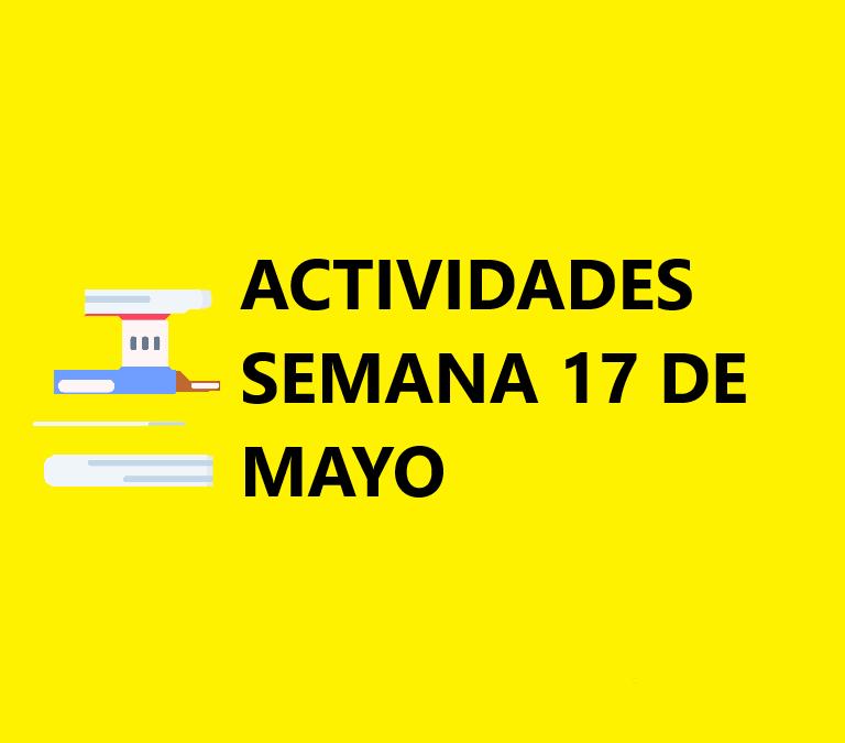 Material Semana 17 de Mayo